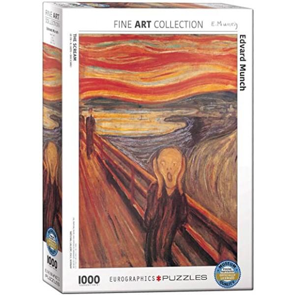 Krzyk, Munch, 1000el, (Smart Cut Technology) - Sklep Art Puzzle
